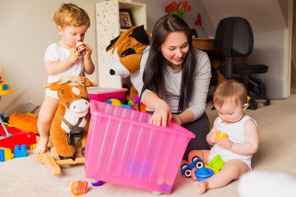 Babysitter with Small Children